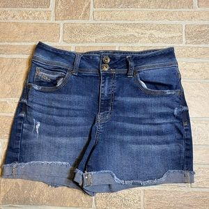 Maurices 5/6 High Rise Jean Shorts